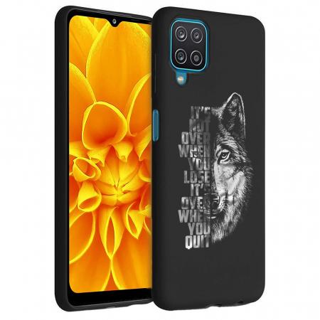 Husa Samsung Galaxy A12 - A42  - Silicon Matte - Wolf 2 [0]