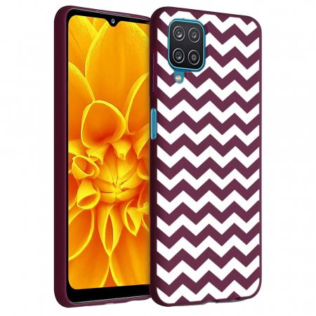 Husa Samsung Galaxy A12 - A42  - Silicon Matte - Zig Zag [6]
