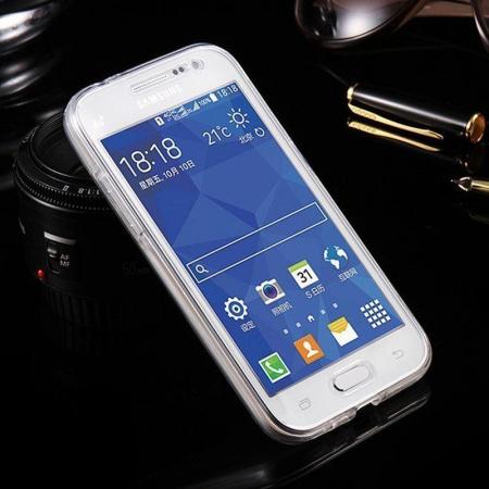 Husa  Samsung Galaxy A3 2017 Silicon TPU 360 grade - transparent2