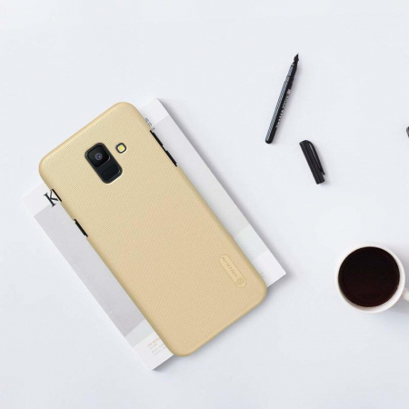 Husa  Samsung Galaxy  A6 (2018) Nillkin Frosted Shield - gold3