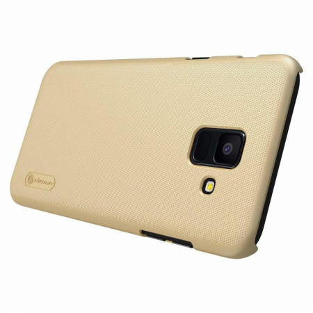 Husa  Samsung Galaxy  A6 (2018) Nillkin Frosted Shield - gold2
