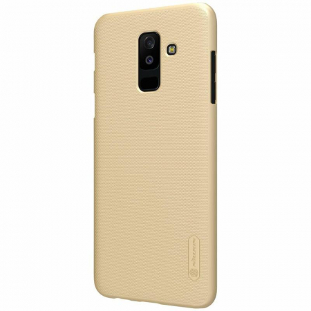 Husa   Samsung Galaxy  A6 Plus (2018) Nillkin Frosted Shield - gold2