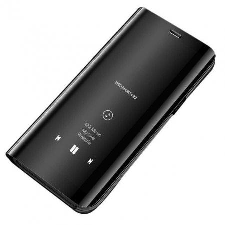 Husa Samsung Galaxy A70 – Flip Clear View – Negru0
