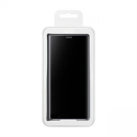 Husa Samsung Galaxy A70 – Flip Clear View – Negru4
