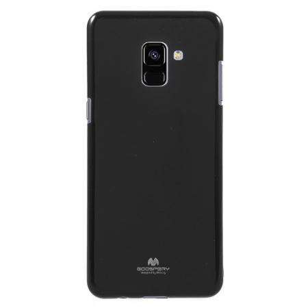 Husa Samsung Galaxy A8 2018 Mercury Jelly Case TPU  - negru0