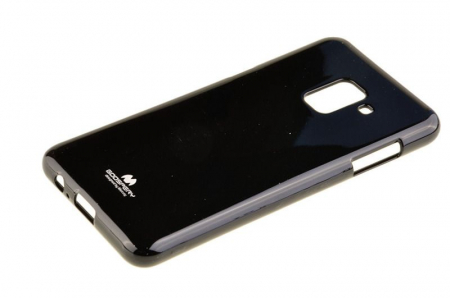 Husa Samsung Galaxy A8 2018 Mercury Jelly Case TPU  - negru2