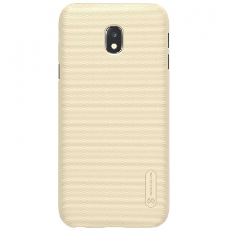 Husa Samsung Galaxy J3 2017 - Nillkin Frosted Shield - gold1