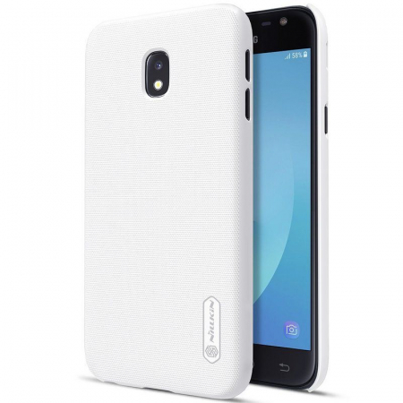 Husa Samsung Galaxy J3 2017 - Nillkin Frosted Shield - alb0