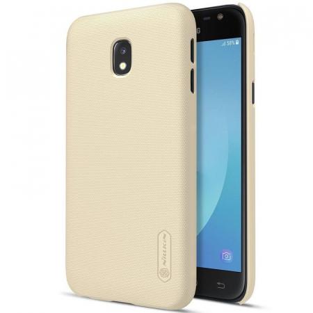 Husa Samsung Galaxy J3 2017 - Nillkin Frosted Shield - gold0