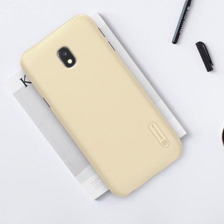 Husa Samsung Galaxy J3 2017 - Nillkin Frosted Shield - gold4
