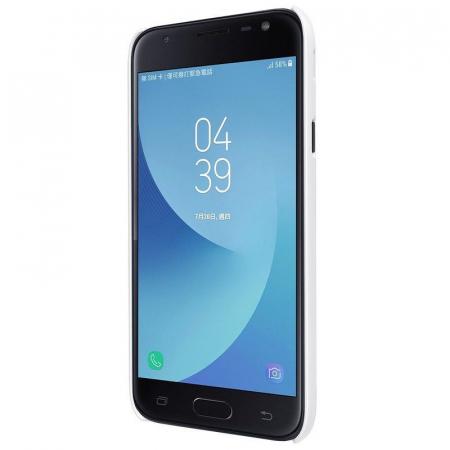 Husa Samsung Galaxy J3 2017 - Nillkin Frosted Shield - alb3