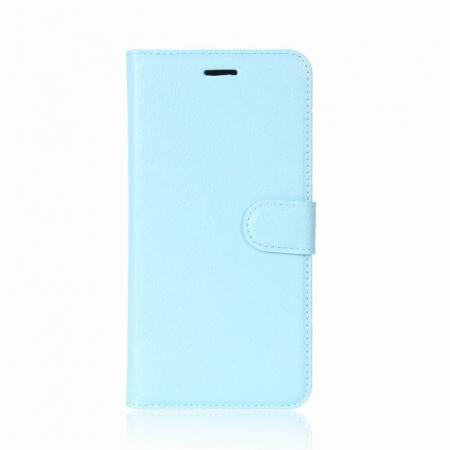 Husa Samsung Galaxy J5 2017 - Crazy Horse din piele eco - albastru0