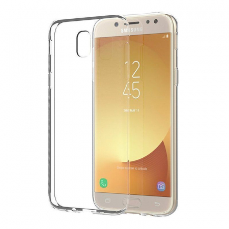 Husa  Samsung Galaxy J5 2017 Silicon Soft TPU 0.8 mm - transparent3