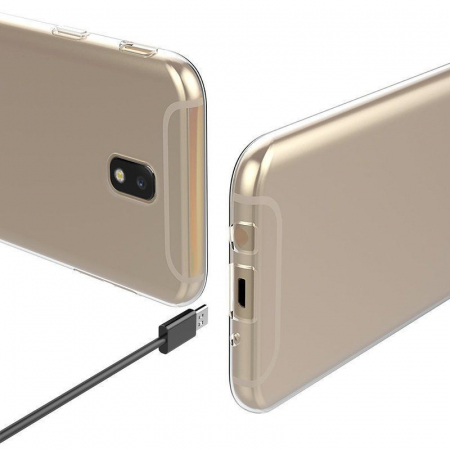 Husa  Samsung Galaxy J5 2017 Silicon Soft TPU 0.8 mm - transparent2