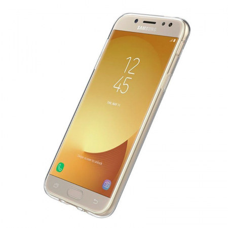 Husa  Samsung Galaxy J5 2017 Silicon Soft TPU 0.8 mm - transparent4