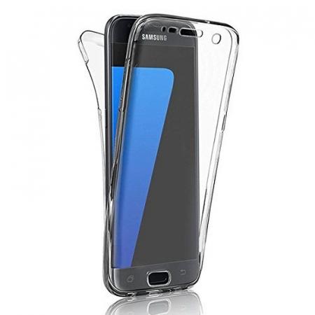 Husa  Samsung Galaxy J5 2017 Silicon TPU 360 grade - transparent10