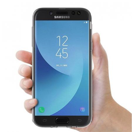 Husa  Samsung Galaxy J5 2017 Silicon TPU 360 grade - transparent4