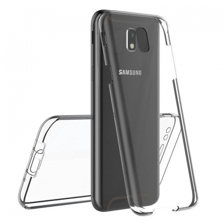 Husa  Samsung Galaxy J5 2017 Silicon TPU 360 grade - transparent2