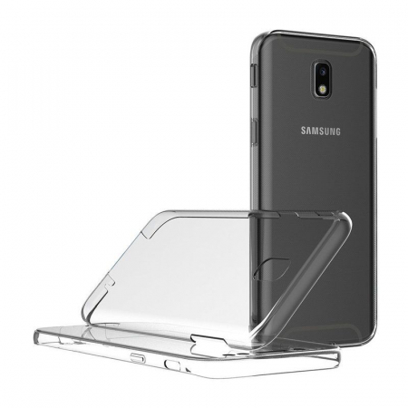 Husa  Samsung Galaxy J5 2017 Silicon TPU 360 grade - transparent6