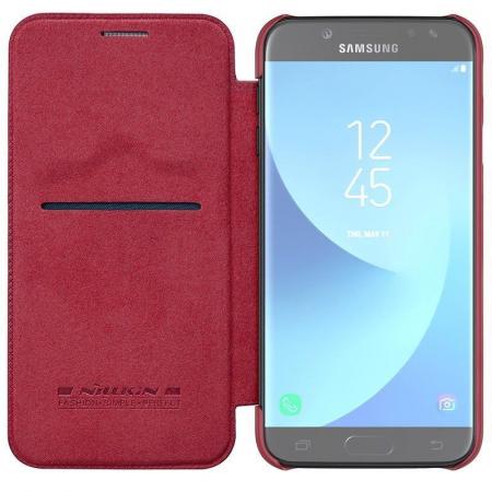 Husa  Samsung Galaxy J7 2017 Nillkin Qin - rosu5