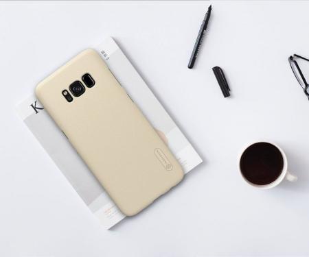 Husa  Samsung Galaxy S8 Nillkin Frosted Shield - gold1