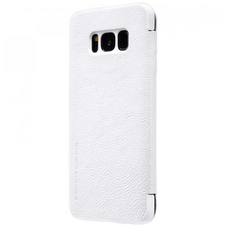 Husa  Samsung Galaxy S8 Nillkin Qin - alb1