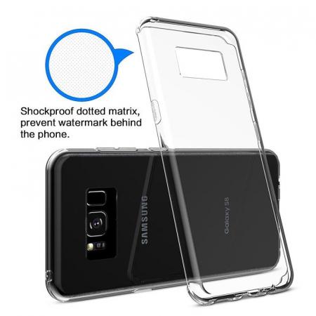 Husa Samsung Galaxy S8 Soft TPU 0.8 mm - transparent5