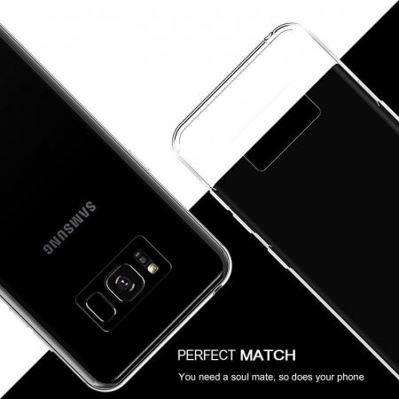 Husa Samsung Galaxy S8 Soft TPU 0.8 mm - transparent1