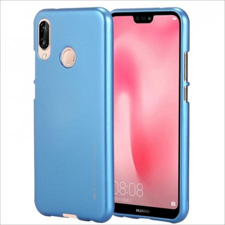 Husa   Silicon Huawei P20 Lite Goospery Mercury i-Jelly - albastru0