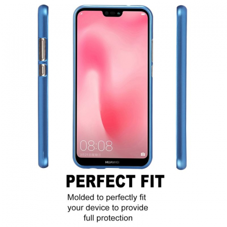 Husa   Silicon Huawei P20 Lite Goospery Mercury i-Jelly - albastru3