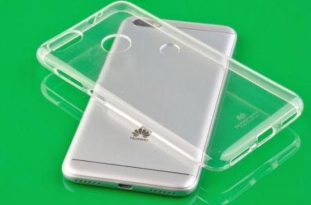 Husa Silicon Huawei P9 Lite Mini Goospery Mercury Jelly Case - transparent3