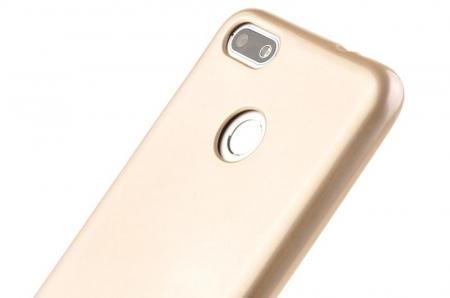 Husa Silicon Huawei P9 Lite Mini Goospery Mercury Jelly Case- gold4