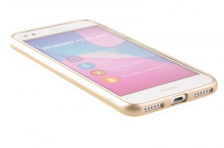 Husa Silicon Huawei P9 Lite Mini Goospery Mercury Jelly Case- gold3