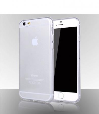 Husa iPhone 6 / iphone 6s Silicon Ultra Thin TPU 0,5 mm - transparent2