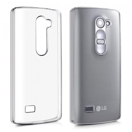 Husa LG Leon Silicon TPU Extra Slim 0.5 mm - transparent0