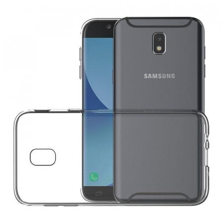 Husa   Samsung Galaxy J7 2017 Silicon TPU extra slim 0.5 mm  - transparent2