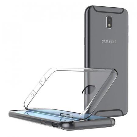 Husa   Samsung Galaxy J7 2017 Silicon TPU extra slim 0.5 mm  - transparent1
