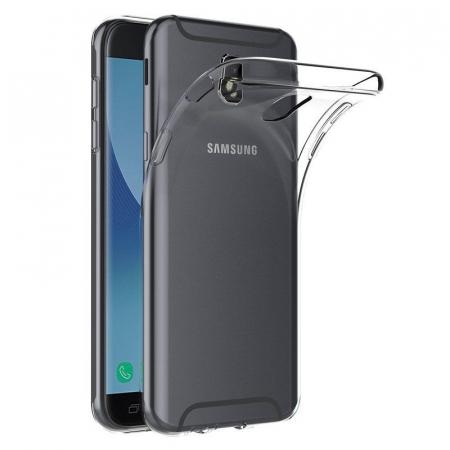 Husa   Samsung Galaxy J7 2017 Silicon TPU extra slim 0.5 mm  - transparent0