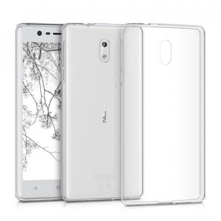 Husa  Nokia 3 Silicon TPU extra slim 0.5 mm - transparent2