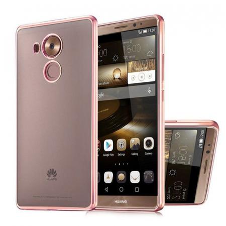 Husa Silicon TPU Plating Ultra Thin Huawei Mate 8 - rose gold 1