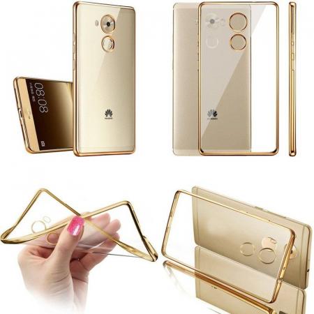 Husa Silicon TPU Plating Ultra Thin Huawei Mate 8 - rose gold 5