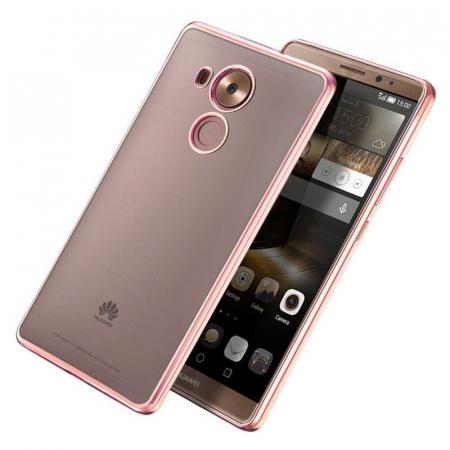 Husa Silicon TPU Plating Ultra Thin Huawei Mate 8 - rose gold 2