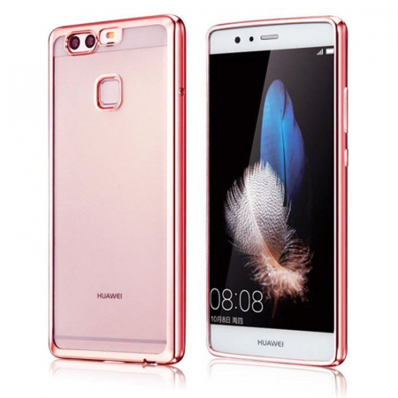 Husa Silicon TPU Plating Ultra Thin Huawei P9 - roz0
