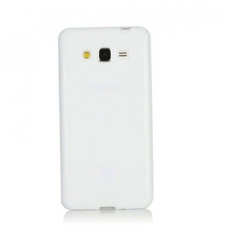 Husa silicon TPU Samsung Grand Prime G530 - alb0