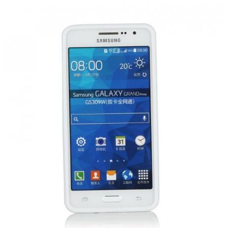 Husa silicon TPU Samsung Grand Prime G530 - alb3
