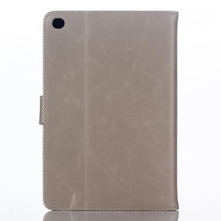 Husa iPad Mini 4 Stil Carte Piele Eco - crem0