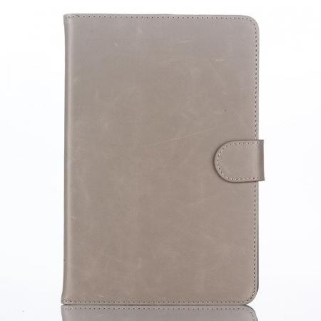 Husa iPad Mini 4 Stil Carte Piele Eco - crem1