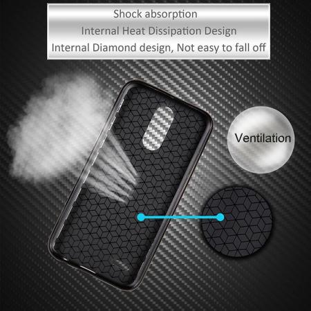 Husa LG K10 (2017) Tpu Carbon - negru5