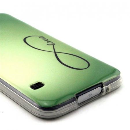 Husa TPU Green Love Samsung Galaxy S5 [3]
