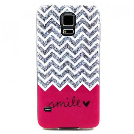 Husa TPU Smile Samsung Galaxy S5 [0]